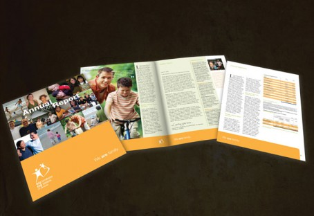 Big brothers Big sister Annual Report - Geng Gao Graphic Design