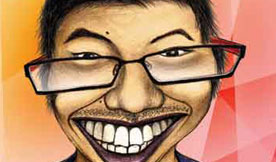 Caricature - Geng Gao Illustration