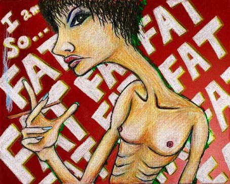 I'm so fat - Geng Gao Illustration