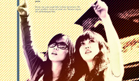 Look Up Poster - Geng Gao Graphic Design
