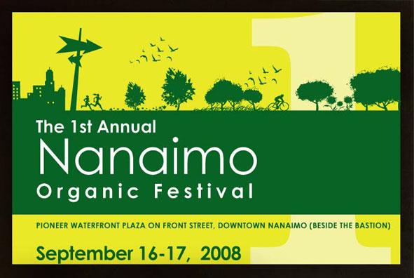 Nanaimo Organic Festival - Geng Gao Graphic Design
