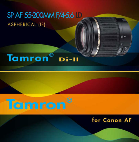 Tamron Package Design - Geng Gao Graphic Design