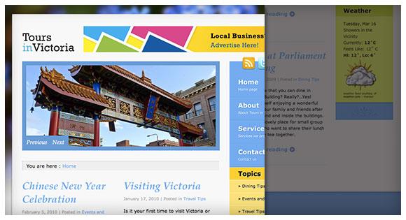 Torus In Victoria - Geng Gao Web Design