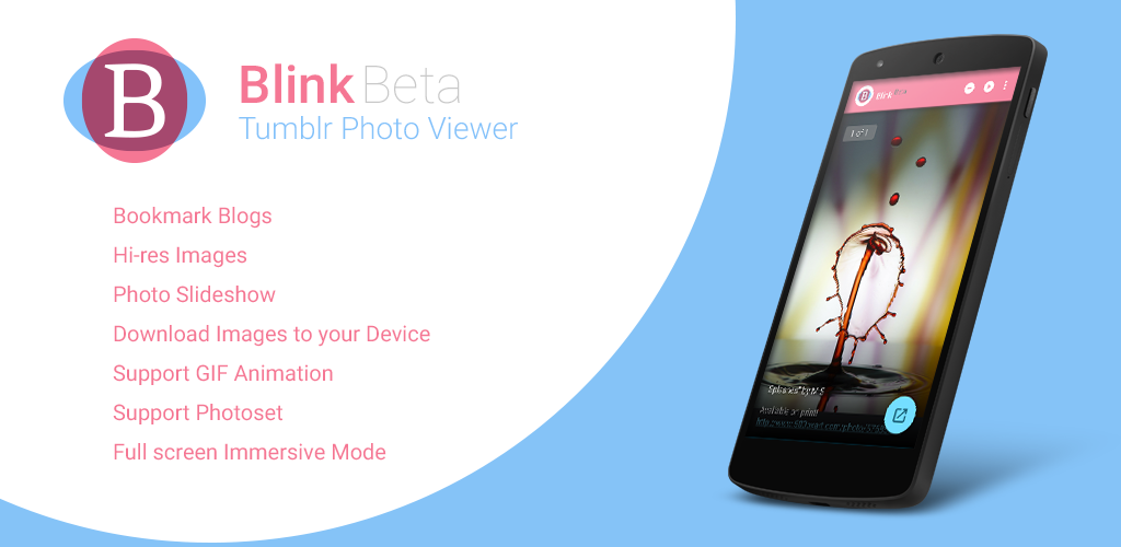Blink - Tumblr Photo Viewer for Android