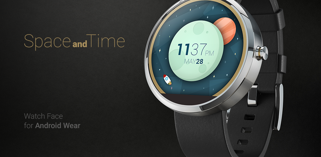 Android wear watch face design and development
